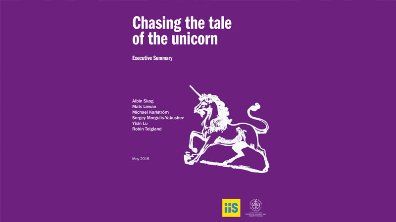 Chasing The Tale of The Unicorn Executive Summary