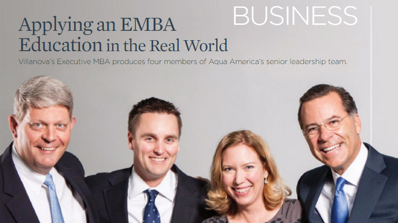 Applying an EMBA education in the real world