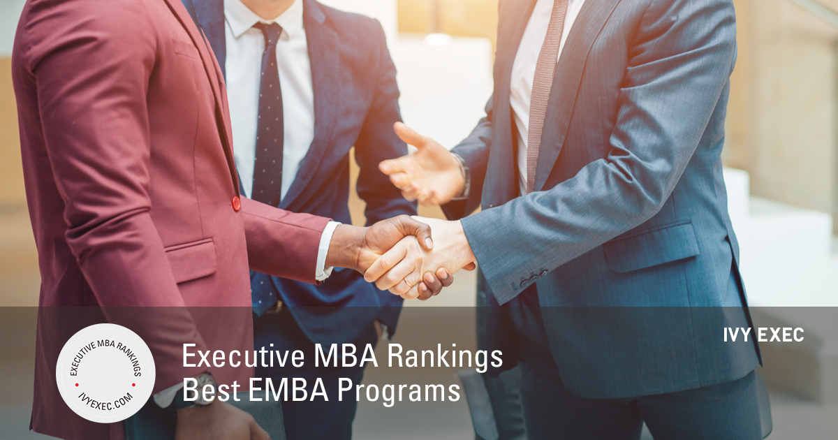 Executive MBA Rankings | Best EMBA Programs in 2019