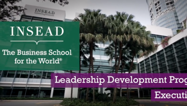 Leadership Development Programme (LDP) - INSEAD Executive MBA