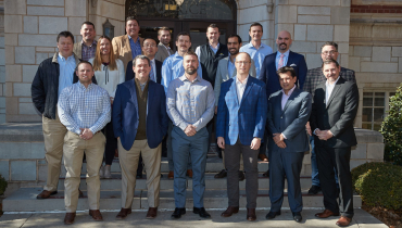 The latest OU EMBA cohort