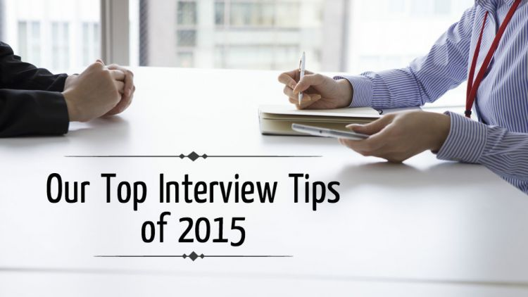 interview tips 2015