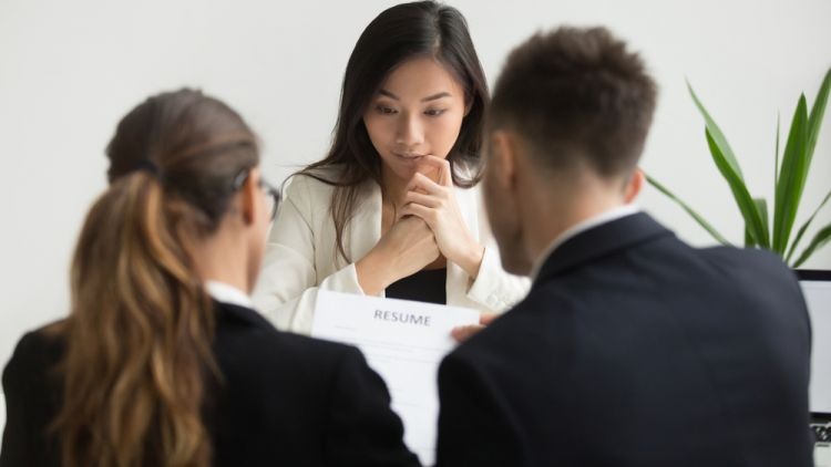 candidate realizing worst fear during interview