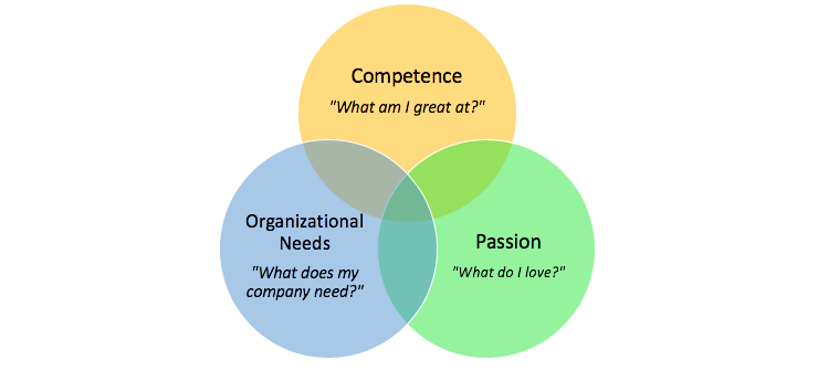 Individual Development Plan Venn Diagram Ivy Exec Blog
