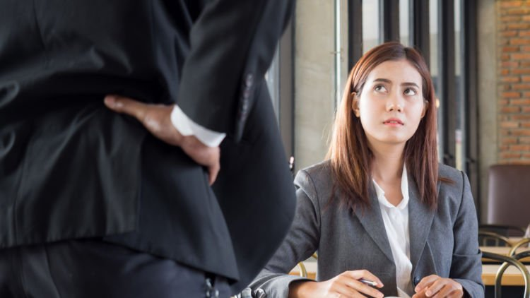 performance review with a hostile boss | abusive boss