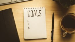 setting career goals at the end of the year