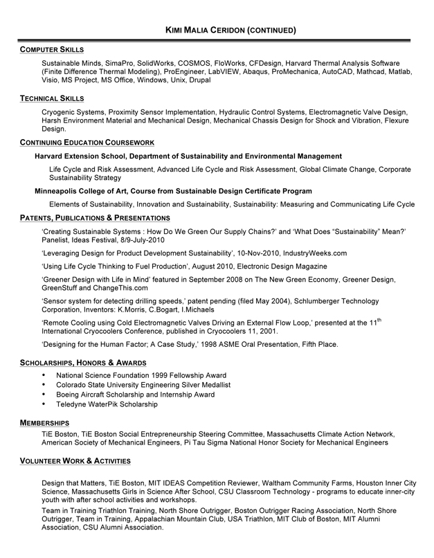 Software Engineer Resume Senior Software Engineer Resume Resume