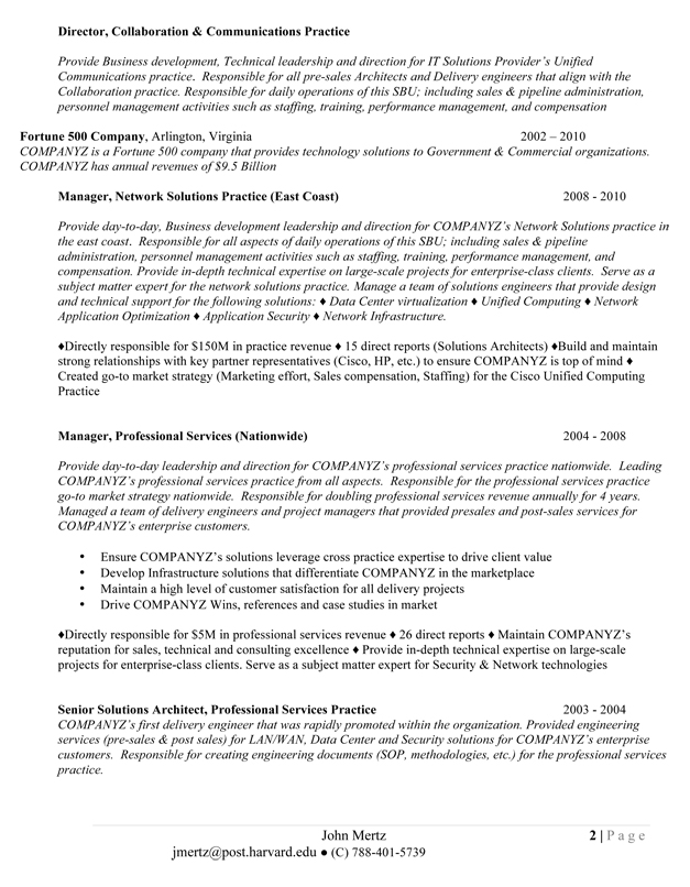 The Results The Results ...  Help With Resume